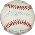 Autographs:Baseballs, 500 Home Run Club Signed Baseball. ...