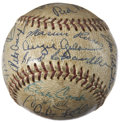 Autographs:Baseballs, 1960's Old Timers Day Signed Baseball. ...