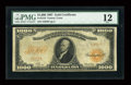 Large Size:Gold Certificates, Fr. 1219 $1000 1907 Gold Certificate PMG Fine 12....
