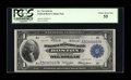 Fr. 710 $1 1918 Federal Reserve Bank Note PCGS Choice About New 55