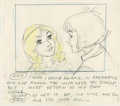 Original Comic Art:Miscellaneous, Faeries Animated Special Storyboard Drawing Original Art,Group of 12 (1981).... (Total: 12 Items)