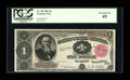 Fr. 350 $1 1891 Treasury Note PCGS Extremely Fine 45