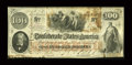 Confederate Notes:1862 Issues, T41 $100 1862 PF-8, Cr. 321/330.. ...