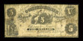 Confederate Notes:1861 Issues, T11 $5 1861 PF-1, Cr. 42.. ...