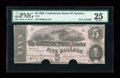 Confederate Notes:1862 Issues, T53 $5 1862 PF-4, Cr. 384.. ...