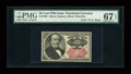 Fractional Currency:Fifth Issue, Fr. 1309 25c Fifth Issue PMG Superb Gem Unc 67 EPQ....