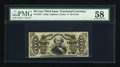 Fractional Currency:Third Issue, Fr. 1327 50c Third Issue Spinner PMG Choice About Unc 58....