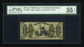 Fractional Currency:Third Issue, Fr. 1366 50c Third Issue Justice PMG About Uncirculated 55 EPQ....