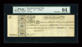 Colonial Notes:Maryland, Maryland 1733 1s PMG Choice Uncirculated 64....