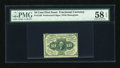 Fractional Currency:First Issue, Fr. 1240 10c First Issue PMG Choice About Unc 58 EPQ....