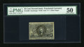 Fractional Currency:Second Issue, Fr. 1289 25c Second Issue PMG About Uncirculated 50....