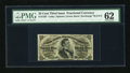 Fractional Currency:Third Issue, Fr. 1297 25c Third Issue PMG Uncirculated 62....