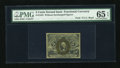 Fractional Currency:Second Issue, Fr. 1232 5c Second Issue PMG Gem Uncirculated 65 EPQ....