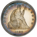 Proof Seated Quarters, 1888 25C PR66 Cameo NGC....