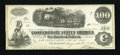 Confederate Notes:1862 Issues, T40 $100 1862 PF-1, Cr. 298.. ...