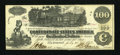Confederate Notes:1862 Issues, T39 $100 1862 PF-14, Cr. UNL.. ...