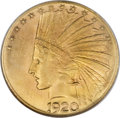 Indian Eagles, 1920-S $10 MS63 NGC....
