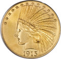 Indian Eagles, 1915-S $10 MS65 PCGS....