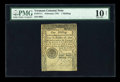 Colonial Notes:Vermont, Vermont February 1781 1s PMG Very Good 10 Net....