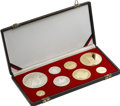 Albania, Albania: Republic gold and Proof Set 1969,... (Total: 8 coins)