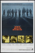 """Movie Posters:Western, The Wild Bunch (Warner Brothers, 1969). One Sheet (27"""" X 41""""). Western...."""