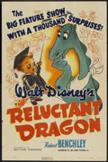 "Movie Posters:Animated, The Reluctant Dragon (RKO, 1941). One Sheet (27"" X 41"") Style A.Walt Disney Animated...."