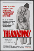 "Movie Posters:Sexploitation, The Runaway (Group 1, 1972). One Sheet (27"" X 41"").Sexploitation...."