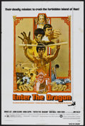 "Movie Posters:Action, Enter the Dragon (Warner Brothers, 1973). One Sheet (27"" X 41"").Action...."