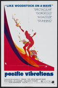 "Movie Posters:Documentary, Pacific Vibrations (American International, 1971). One Sheet (27"" X 41""). Surfing Documentary...."
