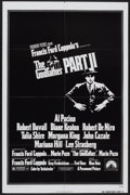 """Movie Posters:Crime, The Godfather Part II (Paramount, 1974). One Sheet (27"""" X 41"""") andIndian One Sheet (27""""X 40""""). Crime.... (Total: 2 Items)"""