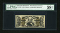 Fractional Currency:Third Issue, Fr. 1328 50c Third Issue Spinner PMG Choice About Unc 58 EPQ....