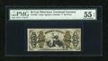 Fractional Currency:Third Issue, Fr. 1364 50c Third Issue Justice PMG About Uncirculated 55 EPQ....