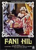 "Movie Posters:Bad Girl, Fanny Hill (Famous Players Corp., 1965). Yugoslavian Poster (18.75""X 19""). Bad Girl...."