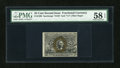 Fractional Currency:Second Issue, Fr. 1290 25c Second Issue PMG Choice About Unc 58 EPQ....