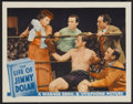 "Movie Posters:Adventure, The Life of Jimmy Dolan (Warner Brothers, 1933). Lobby Card (11"" X14""). Adventure...."