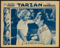 "Movie Posters:Adventure, Tarzan the Fearless (Principal Distributing, 1933). AutographedLobby Card (11"" X 14""). Chapter 9: ""Eyes of Evil."" Adventure..."