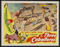 "Movie Posters:Animated, The Three Caballeros (RKO, 1945). Lobby Card (11"" X 14"").Animated...."