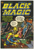 Golden Age (1938-1955):Horror, Black Magic #17 (Prize, 1952) Condition: FN/VF....