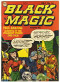 Golden Age (1938-1955):Horror, Black Magic #14 (Prize, 1952) Condition: VF....