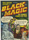 Golden Age (1938-1955):Horror, Black Magic #6 (Prize, 1951) Condition: FN....