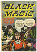 Golden Age (1938-1955):Horror, Black Magic #12 (Prize, 1952) Condition: VG/FN....
