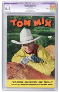 Golden Age (1938-1955):Western, Tom Mix Western #1 (Fawcett, 1948) CGC Apparent FN+ 6.5 Off-white to white pages....