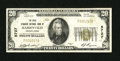 National Bank Notes:Pennsylvania, Marienville, PA - $20 1929 Ty. 1 The Gold Standard NB Ch. # 5727. ...