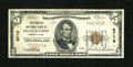 National Bank Notes:Pennsylvania, Duncannon, PA - $5 1929 Ty. 1 The Peoples NB Ch. # 8778. ...