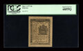 Colonial Notes:Delaware, Delaware May 1, 1777 4d PCGS Superb Gem New 68PPQ....
