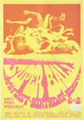 "Music Memorabilia:Posters, Super Ball KMPX First Birthday Benefit Poster (1968) 14"" x20.25"". ..."