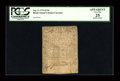 Colonial Notes:Rhode Island, Rhode Island September 5, 1776 $1/16 PCGS Apparent Very Fine 25....