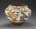American Indian Art:Pottery, AN ACOMA POLYCHROME JAR. Lolita Concho. c. 1935...