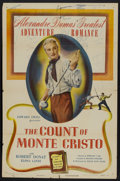 "Movie Posters:Adventure, The Count of Monte Cristo (Eagle Lion, R-1948). One Sheet (27"" X41""). Adventure...."