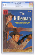 Silver Age (1956-1969):Western, Four Color #1009 The Rifleman (Dell, 1959) CGC VF 8.0 Off-white to white pages....